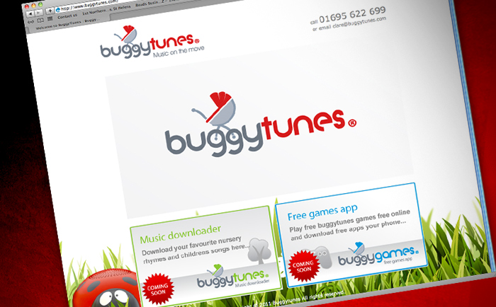 Buggytunes Website Design Chris Hesketh Freelance Graphic Designer North West UK