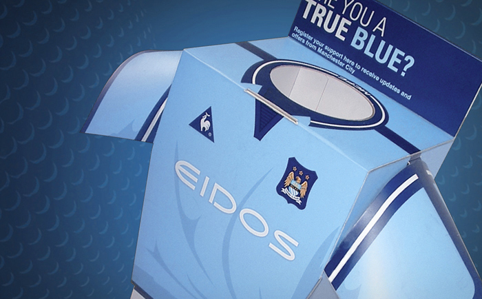 MCFC POS Packaging Chris Hesketh Freelance Graphic designer North West Manchester