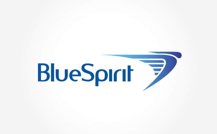 Bluespirit Logo Chris Hesketh Freelance Graphic designer