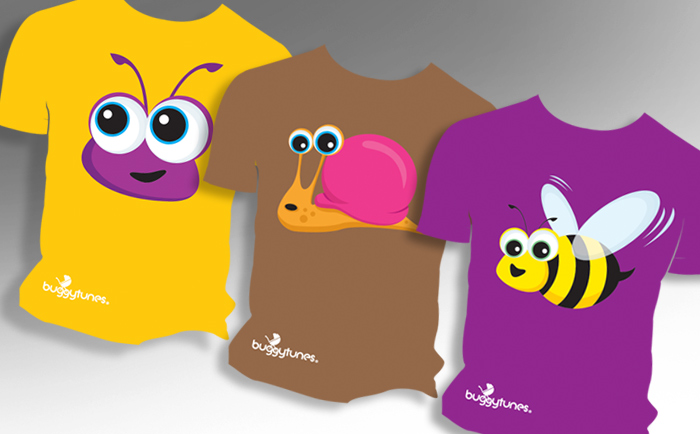 Buggytunes Characters Chris Hesketh Freelance Graphic designer North West Manchester