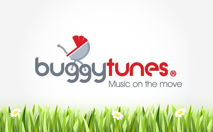 Buggytunes Logo Chris Hesketh Freelance Graphic designer