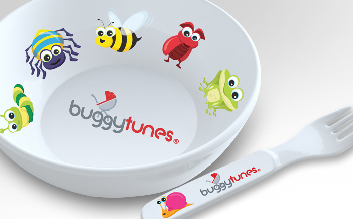 Buggytunes Merchandice Chris Hesketh Freelance Graphic designer North West Manchester