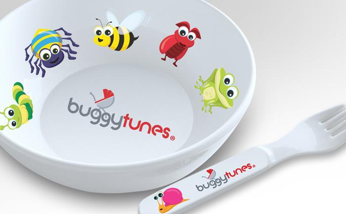 Buggytunes Merchandice Chris Hesketh Freelance Graphic designer North West Manchester