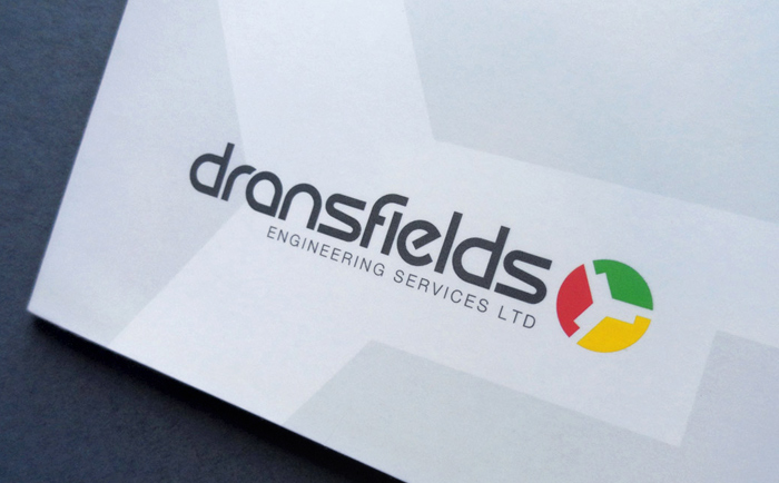 Dransfields brochure Logo Chris Hesketh Freelance Graphic designer North West