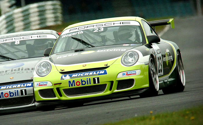 Keep On Driving Car Graphics - Porche track Chris Hesketh Freelance Graphic designer