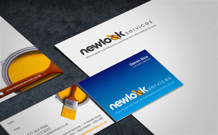 Newlook Stationery Chris Hesketh Freelance Graphic designer