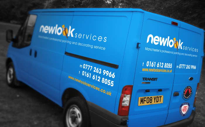 Newlook Van Chris Hesketh Freelance Graphic designer