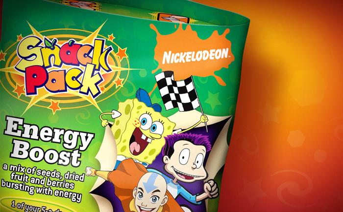 Nickelodeon Packaging Chris Hesketh Freelance Graphic designer North West Manchester