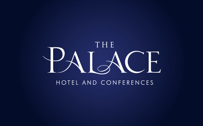 Palace Logo blue Chris Hesketh Freelance Graphic designer