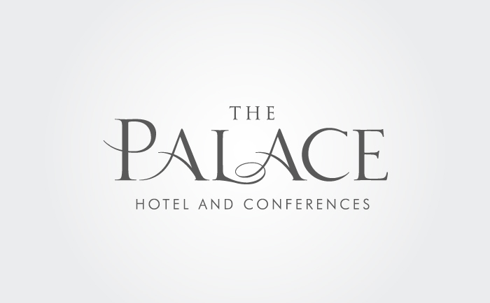 Palace Logo grey Chris Hesketh Freelance Graphic designer
