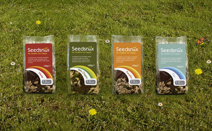 Seedsnax Packaging Chris Hesketh Freelance Graphic designer