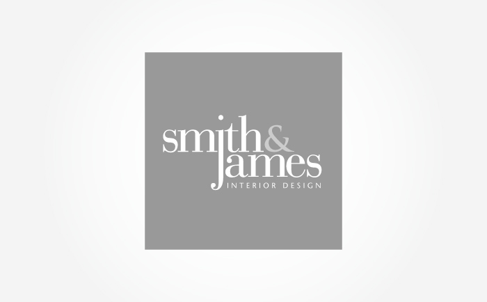 Smith and James Logo Mono Chris Hesketh Freelance Graphic designer