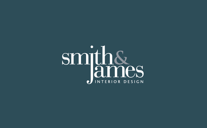 Smith and James Logo NoBox Chris Hesketh Freelance Graphic designer