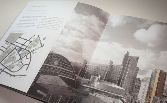 Stratus Brochure Inside Chris Hesketh Freelance Graphic designer North West