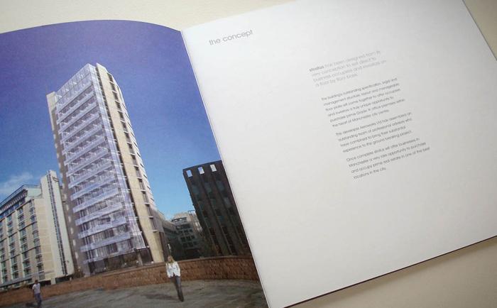 Stratus Brochure Inside Cover Chris Hesketh Freelance Graphic designer North West