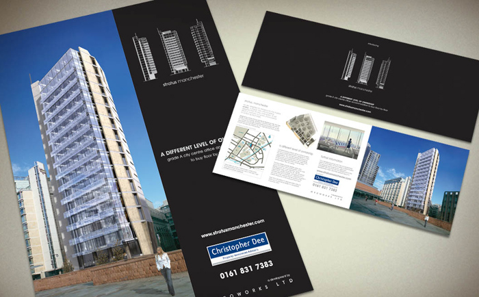 Stratus Mailer Poster Chris Hesketh Freelance Graphic designer North West
