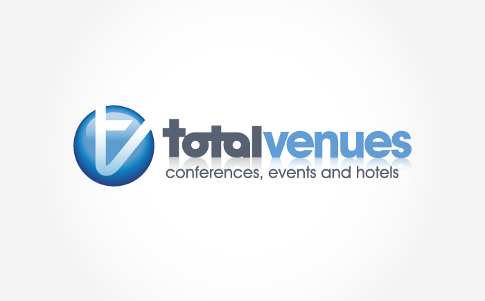 TotalVenues Logo Chris Hesketh Freelance Graphic designer