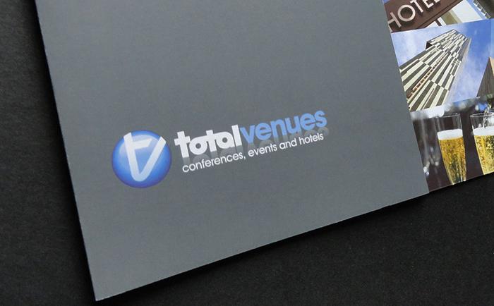 Total Venues Mailers Chris Hesketh Freelance Graphic designer
